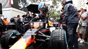 Ricciardo was runner-up behind Lewis Hamilton in the Monaco GP