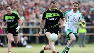 Mayo's Keith Higgins on the charge against London