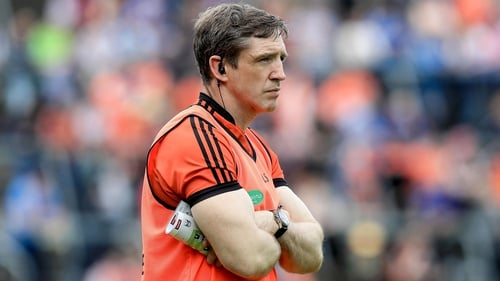 Kieran McGeeney looks set to be in the stands for Armagh's opening championship game
