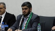 Mohammed Alloush represents the powerful Jaish al Islam rebel faction
