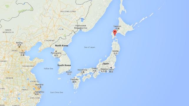 The incident happened near Nanae, on Hokkaido (Pic: Google Maps)