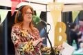 Bláthnaid celebrates Best Radio Show Win