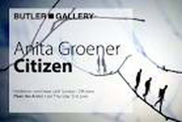 """Citizen"" by  Anita Groener at the Butler Gallery"
