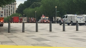 Emergency services were called to the White House