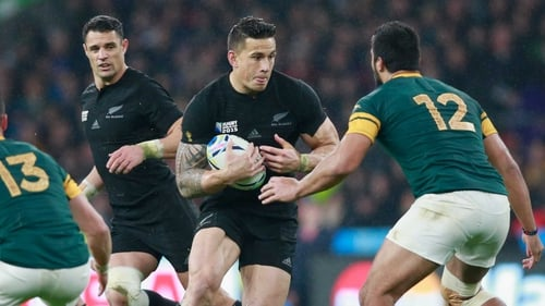 Sonny Bill Williams will not wear the logos of banks, alcohol or gambling companies