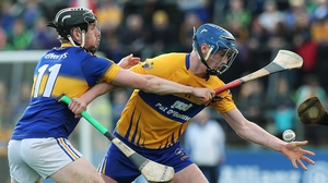Bobby Duggan in action for Clare against Tipperary during the recent League campaign