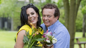 Audrey McGrath and Marty Morrissey at Bloom