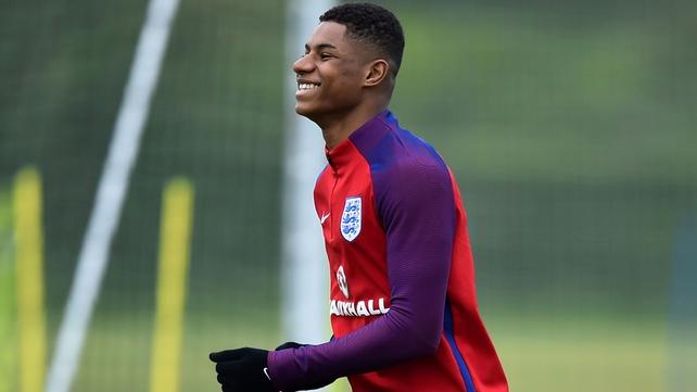 Rashford and Sturridge named in England squad