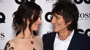 Ronnie Wood, pictured with wife Sally Humphreys
