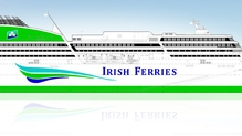 A side elevation of the proposed new cruise ferry commissioned by ICG
