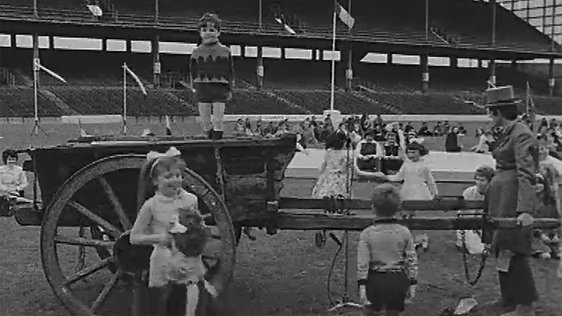 Children Dancing in Croke Park (1971)