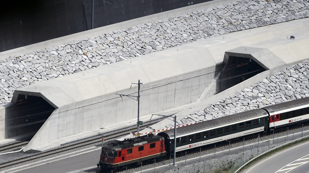 Gotthard, World's Longest Rail Tunnel, to Open in Switzerland