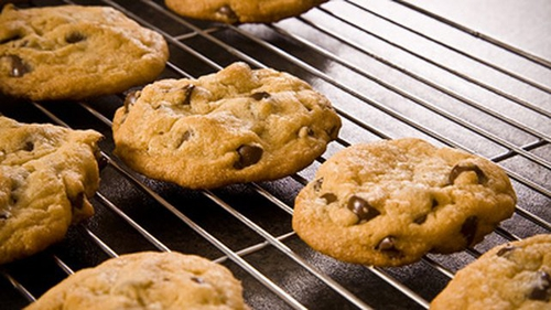 Chocolate Chip Cookies: Just Add Milk!