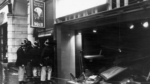 IRA suspect apologises for Birmingham pub bombings that killed 21 people