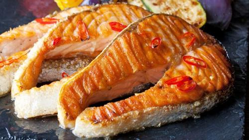 Guinness BBQ Salmon Steaks