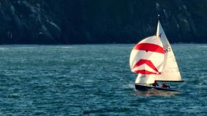 A yacht near Greystones, Co Wicklow (Brian Keeley)