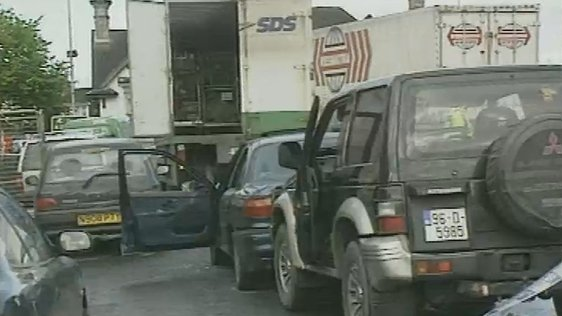 Scene of the Jerry McCabe shooting, Adare, County Limerick (1996)