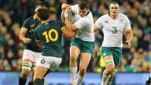 Robbie Henshaw in action against South Africa last year