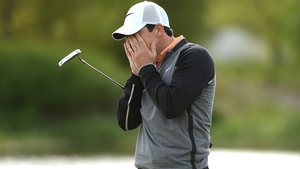 McIlroy has switched to a conventional putting grip
