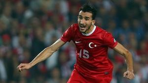Mehmet Topal's goal gave Turkey victory
