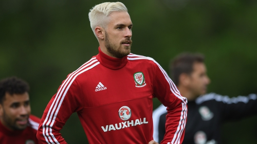 best loved 35d92 aee26 Suspended Ramsey backs Wales to get to final