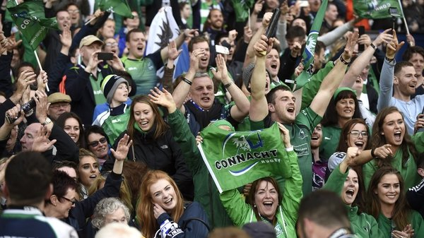 Connacht fans hail their heroes at the final whistle
