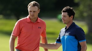 Jordan Speith and Rory McIlroy