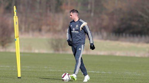 Aaron Hughes misses Northern Ireland's World Cup qualifiers against Germany and Norway