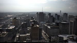 Johannesburg was singled out as being one of the areas most at risk