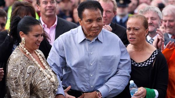 Muhammad Ali visiting Clare back in 2009