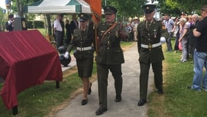 Two plaques bearing the names of the 226 soldiers were unveiled at a monument to the war dead in Tralee