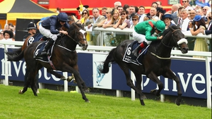 Harzand leads home a 1-2-3 for Irish-trained horses at Epsom