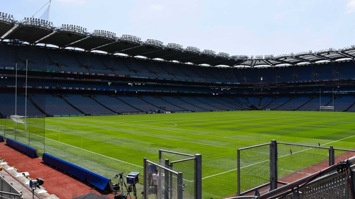 Croke Park hosted the finals