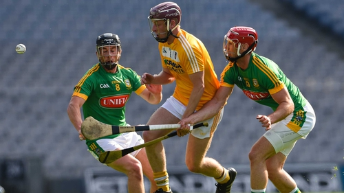 Antrim and Meath will replay in Páirc Esler on 11 June