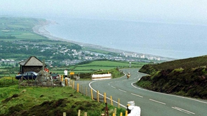 The Mountain road of the Isle of Man TT