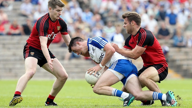 Shane Carey with Conor Maginn and Gerard Collins