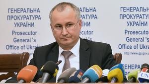 SBU security service chief Vasyl Grytsak said the man arrested intended to conduct 15 terrorist attacks