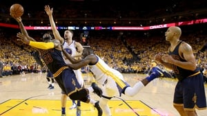 LeBron James was helpless as the Warriors took a 2-0 Finals lead