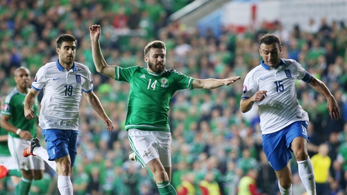 Stuart Dallas has withdraw from the Northern Ireland squad