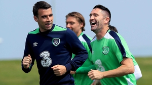 Keane was a welcome addition to the session in Abbotstown