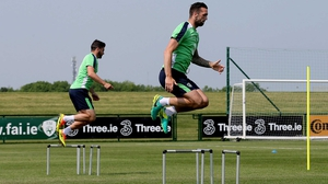 Shane Duffy will be hoping to jump into the team to face Sweden in 13 June