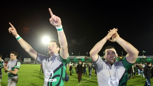 Danny Qualter (l) and JP Cooney are staying with the Pro12 holders for next season