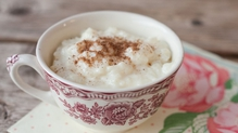 A delicious and simple rice pudding.