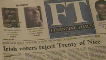 Europe Reacts To Ireland's 'No' Vote