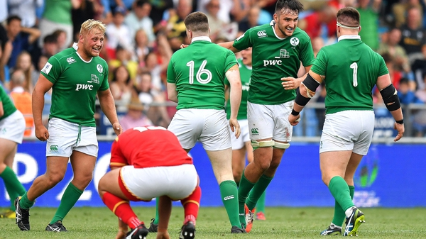 Ireland will be looking to make it two wins from two