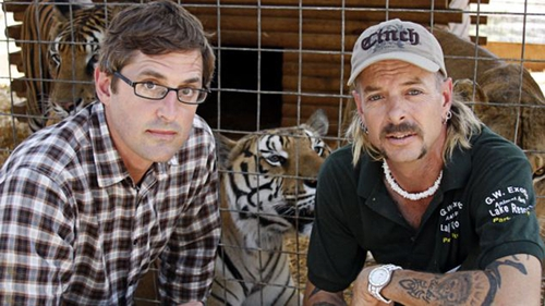 Louis Theroux with Joe Exotic