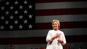 Hillary Clinton welcomed the vote of confidence from Barack Obama