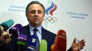Russian deputy prime-minister Vitaly Mutko