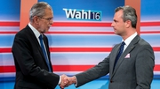 Norbert Hofer (R) lost the election to Alexander Van der Bellen (L) by less than 1% of the vote