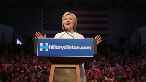 Hillary Clinton: 'Thanks to you, we have reached a milestone'